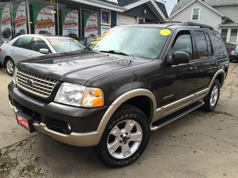 2005 Ford Explorer for sale at Cass Auto Sales Inc in Joliet IL