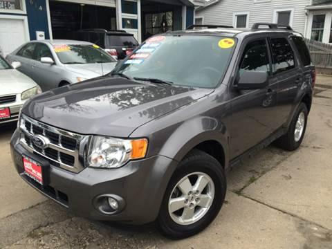 2010 Ford Escape for sale at Cass Auto Sales Inc in Joliet IL