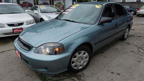 2000 Honda Civic for sale at Cass Auto Sales Inc in Joliet IL