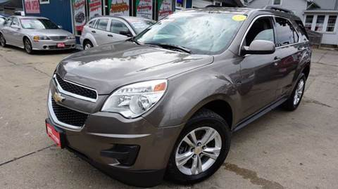 2012 Chevrolet Equinox for sale at Cass Auto Sales Inc in Joliet IL