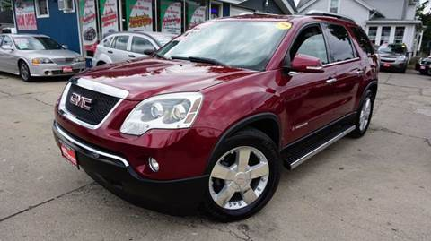 2008 GMC Acadia for sale at Cass Auto Sales Inc in Joliet IL