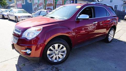 2010 Chevrolet Equinox for sale at Cass Auto Sales Inc in Joliet IL