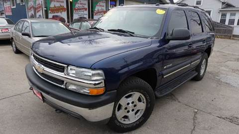 2003 Chevrolet Tahoe for sale at Cass Auto Sales Inc in Joliet IL