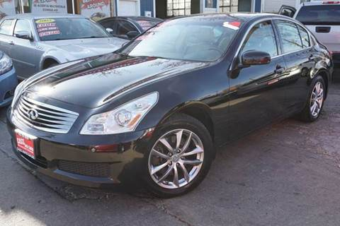 2007 Infiniti G35 for sale at Cass Auto Sales Inc in Joliet IL