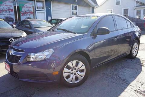 2014 Chevrolet Cruze for sale at Cass Auto Sales Inc in Joliet IL