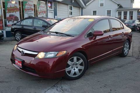 2008 Honda Civic for sale at Cass Auto Sales Inc in Joliet IL