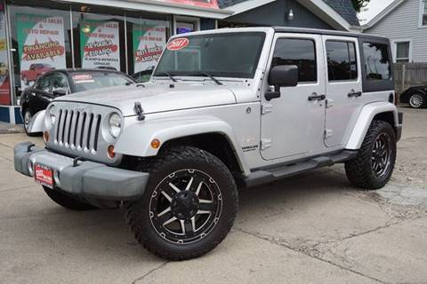 2011 Jeep Wrangler Unlimited for sale at Cass Auto Sales Inc in Joliet IL