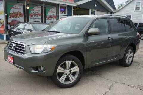 2008 Toyota Highlander for sale at Cass Auto Sales Inc in Joliet IL