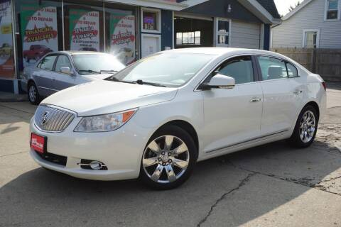 2010 Buick LaCrosse for sale at Cass Auto Sales Inc in Joliet IL