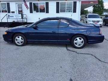 2001 Chevrolet Monte Carlo for sale in Mount Carmel, IL