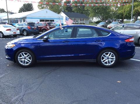 2013 Ford Fusion for sale in Mount Carmel IL
