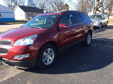 2011 Chevrolet Traverse for sale at BISHOP MOTORS inc. in Mount Carmel IL
