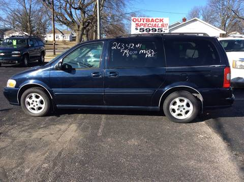 2003 Oldsmobile Silhouette for sale at BISHOP MOTORS inc. in Mount Carmel IL