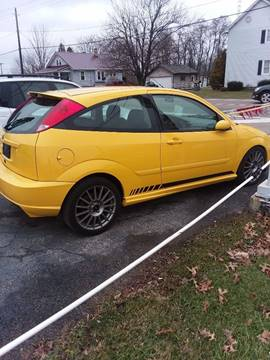 East Orange Focus >> 2003 Ford Focus Svt For Sale In East Palestine Oh