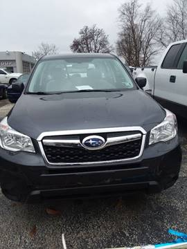 2014 Subaru Forester 2.5i for sale at VENEZIA AUTO GROUP in East Palestine OH