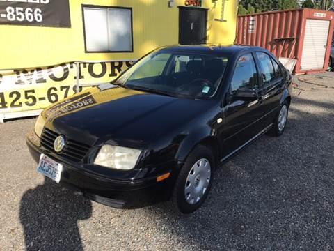 2000 Volkswagen Jetta for sale in Lynnwood, WA