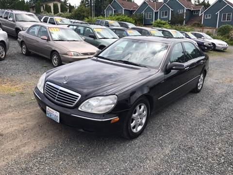 2000 Mercedes-Benz S-Class for sale in Lynnwood, WA