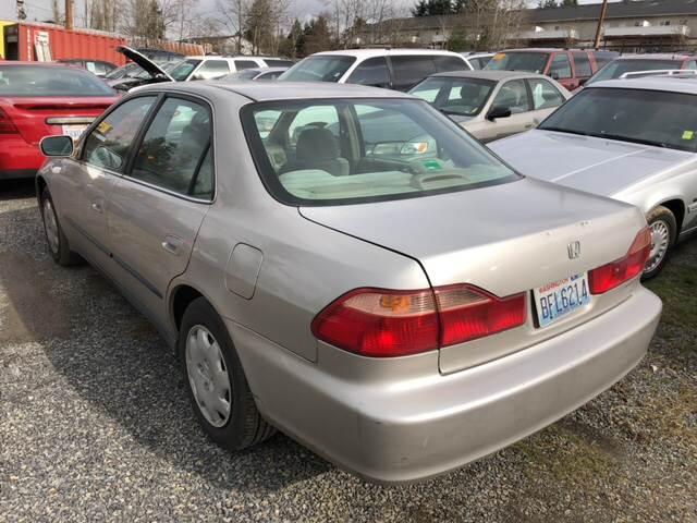 1999 Honda Accord LX 4dr Sedan In Lynnwood WA