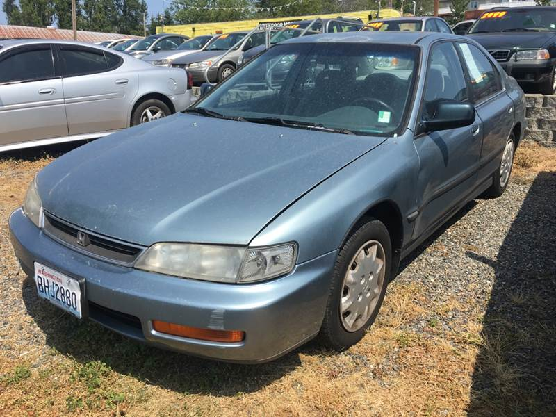 1996 Honda Accord Lx 4dr Sedan In Lynnwood Wa Livengood Motors