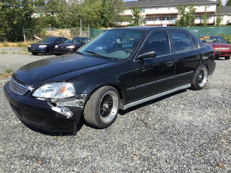 2000 Honda Civic LX 4dr Sedan   Lynnwood WA