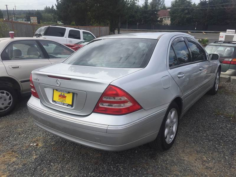2004 Mercedes Benz C Class C 240 4dr Sedan In Lynnwood