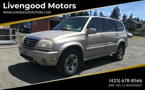 2002 Suzuki XL7 for sale in Lynnwood, WA