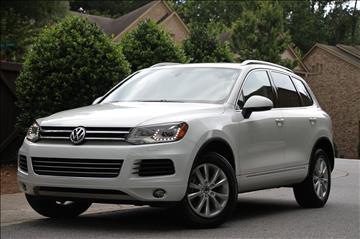 2014 Volkswagen Touareg for sale in Marietta, GA