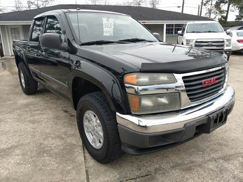 2007 GMC Canyon for sale at Lumberton Auto World LLC in Lumberton TX