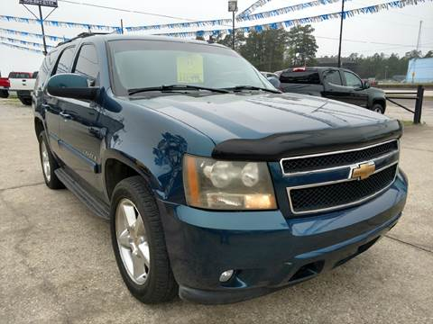 2007 Chevrolet Tahoe for sale at Lumberton Auto World LLC in Lumberton TX