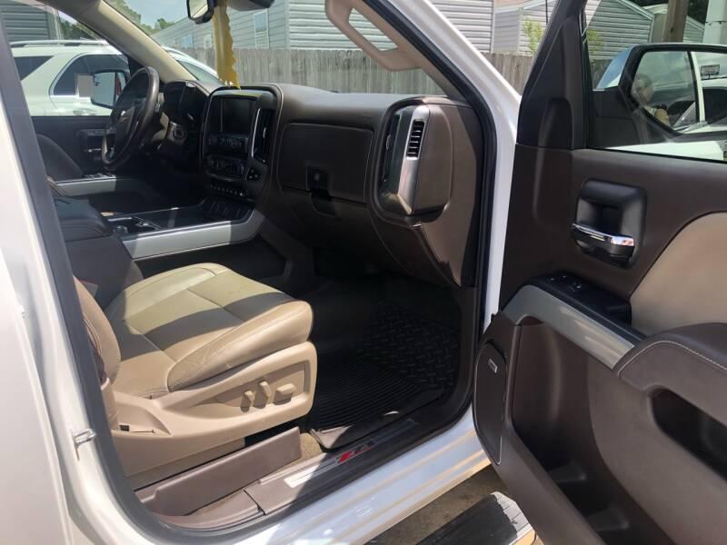 2018 Chevrolet Silverado 1500 4x4 LTZ Z71 4dr Crew Cab 5.8 ft. SB - Lumberton TX