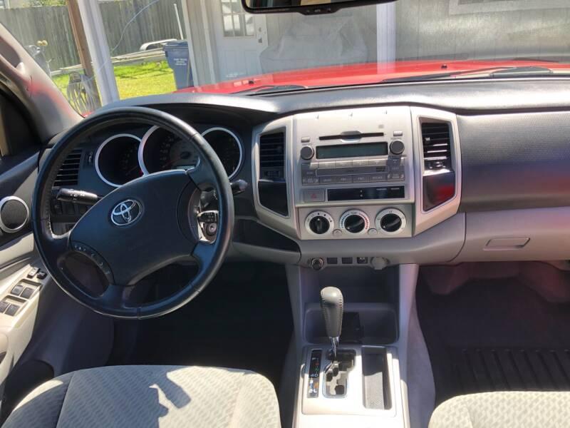 2009 Toyota Tacoma 4x2 PreRunner V6 4dr Double Cab 5.0 ft. SB 5A - Lumberton TX