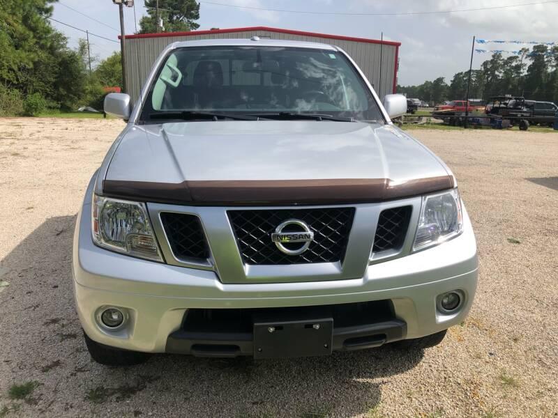 2017 Nissan Frontier 4x4 PRO-4X 4dr Crew Cab 5 ft. SB 6M - Lumberton TX