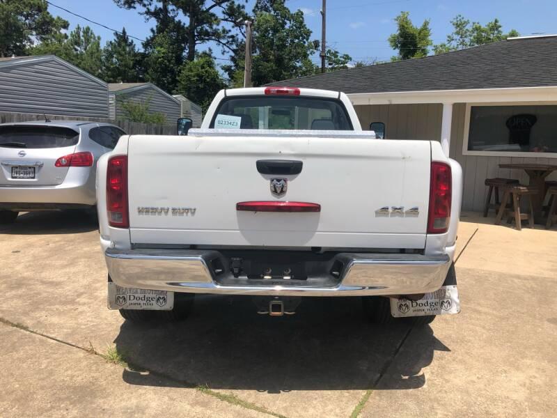 2006 Dodge Ram Pickup 3500 4x4 ST 2dr Regular Cab 8 ft. LB DRW Pickup - Lumberton TX