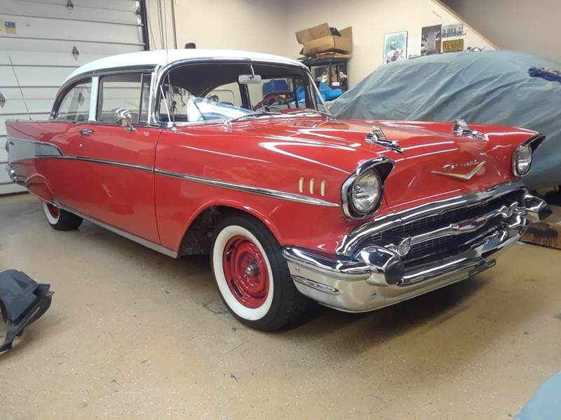 1957 Chevrolet Bel Air Post Two Door Belair In Naperville IL ...