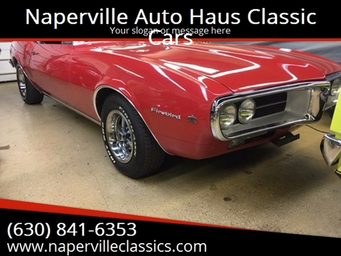 1967 Pontiac Firebird for sale in Naperville, IL