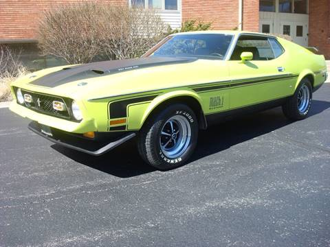 1972 Ford Mustang for sale in Naperville, IL