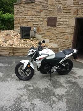 2013 Honda CB500F for sale at STIRLING MOTORS, LLC in Irwin PA