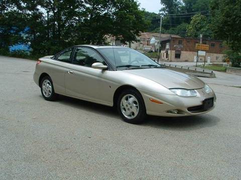 2002 Saturn S-Series for sale at STIRLING MOTORS, LLC in Irwin PA