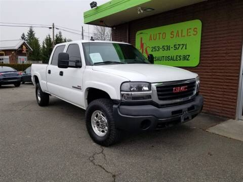 2003 GMC Sierra 2500HD for sale in Parkland, WA