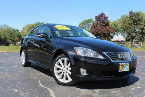 2010 Lexus IS 250 for sale in Summit, IL