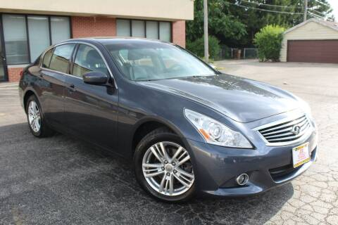 2010 Infiniti G37 Sedan for sale at JZ Auto Sales in Summit IL