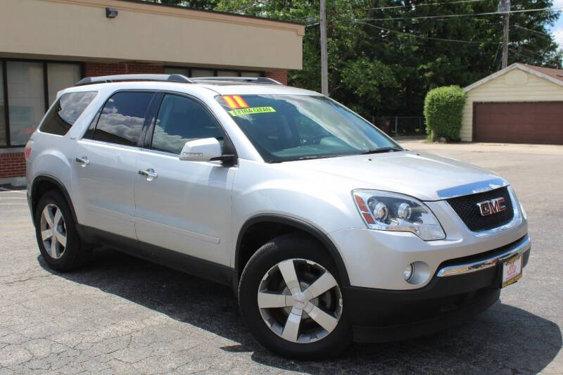 2011 GMC Acadia for sale at JZ Auto Sales in Summit IL