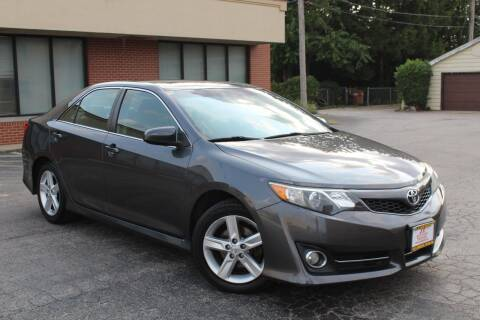 2013 Toyota Camry for sale at JZ Auto Sales in Summit IL