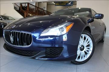 2014 Maserati Quattroporte for sale in San Jose, CA