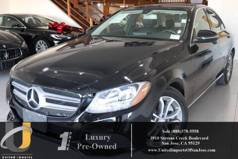 2016 Mercedes-Benz C-Class C 300 Luxury for sale at United Imports in San Jose CA