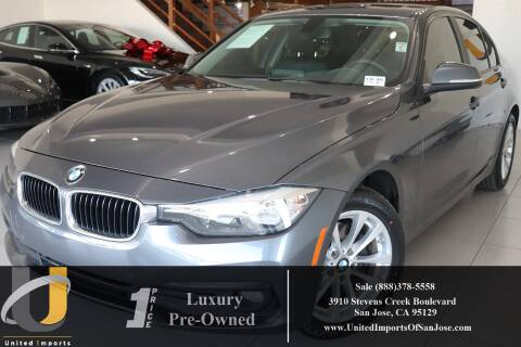 2016 BMW 3 Series 320i for sale at United Imports in San Jose CA