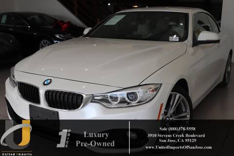 2017 BMW 4 Series 430i for sale at United Imports in San Jose CA