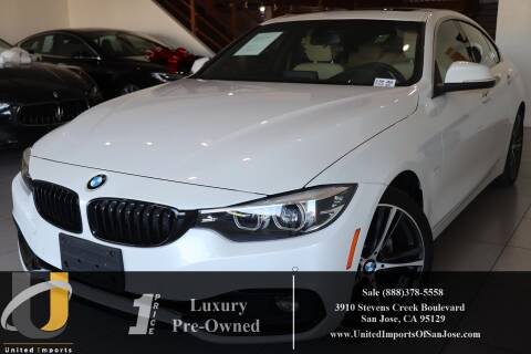 2018 BMW 4 Series 430i Gran Coupe for sale at United Imports in San Jose CA