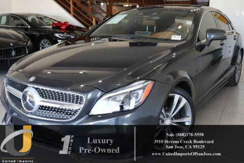 2016 Mercedes-Benz CLS CLS 400 for sale at United Imports in San Jose CA
