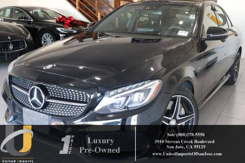 2016 Mercedes-Benz C-Class C 450 AMG for sale at United Imports in San Jose CA